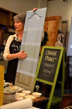 Annie Sloan Chalk Paint Workshop