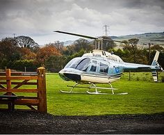 Yes you could really arrive at the farm in style for your wedding... #weddingarrival #helicopterwedding