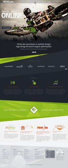 Website Design: Sunshine Coast - Web Design and Logo Design - thinkLuke