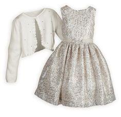 f8b064fb447b Sparkling Champagne Silver Sequins Dress. Girls Dresses TweenGirls ...