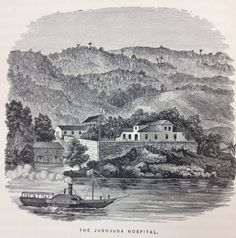 The Jurujuba Hospital in FLETCHER, James C. & KIDDER, D. P. Brazil and the Brazilians. Boston: Little, Brown and Company, 1879.