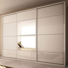 Brand New Manhattan Comfort NoHo 3-Door Wardrobe