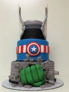 Hulk Taart