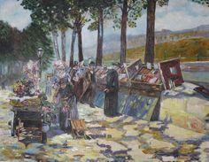 Paris Paintings, Paris, Montmartre Paris, Paint, Painting Art, Paris France, Painting, Portrait, Drawings