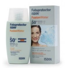 Fotoprotector Isdin Fusion Water SPF 50+50ml