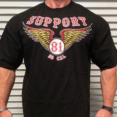 823 Support 81 Dark Side Hells Angels T-Shirt | Hells Angels MC