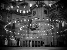 Sulemaniye Mosque, Istanbul, shot through a pinhole from LegalNomad's travel blog