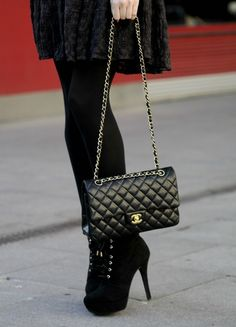 Chanel Flap Bag....maybe one day soon. :)