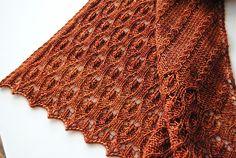 Ravelry: Vigneto Shawl pattern by Judy Marples