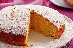Orange and polenta cake Sweet Recipes, Cake Recipes, Yummy Recipes, Polenta Cakes, Calcium Rich Foods, Sweets Cake, Recipe Sites, Round Cake Pans, Almond Recipes
