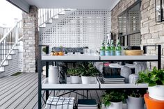 40 Chic Ideas for Patios and Porches on a Budget | HGTV Small Outdoor Spaces, Small Patio, Contemporary Dining Sets, Farmhouse Style Table, Pergola Pictures, Rustic White, Floor Design, Deck Design, Patio Table