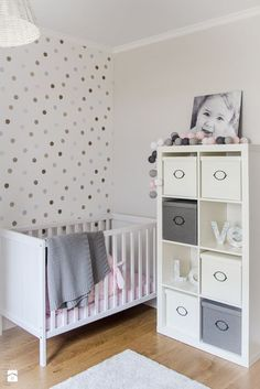 Bedroom: Grey Wall Design Baby Nursery Ideas Above Large Soft Carpet Floor Have Some Doll On Baby Room from Realizing Baby Nursery Ideas on Budget Baby Bedroom, Baby Boy Rooms, Baby Boy Nurseries, Baby Room Decor, Nursery Room, Girls Bedroom, Baby Girls, Ikea Baby Room, Bedroom Decor