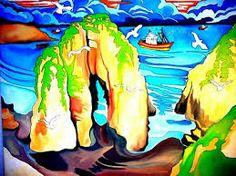 pinturas de pareja en la playa - Buscar con Google
