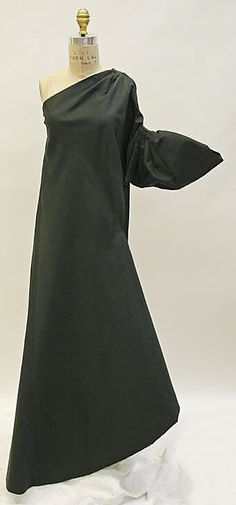 1960 Madame Gres, designed by Alix Barton Evening dress Metropolitan Museum of Art, NY. See more vintage dresses at www.vintagefashionandart.com/dresses