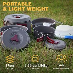 Backpacking, Camping, Travel Products, Cookware Set, Program Design, Picnic, Road Trip, Hiking, Outdoor