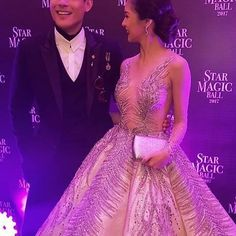 Kim Chiu | Xian Lim | KimXi |   Star Magic Ball 2017 | 093017 | Royal Couple  King Lim and Queen Chiu 👑👑👫😍  @chinitaprincess @xianlimm ©@starstyleph   #KimChiu #XianLim #KimXi #StarMagicBall2017