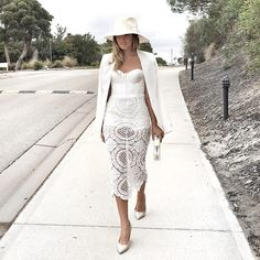 Get this look: http://lb.nu/look/7782418  More looks by Friend in Fashion *: http://lb.nu/friendinfashion  Items in this look:  Mischa Collection Lace, White, Sarah J Curtis Wool   #chic #minimal #romantic #lbwhiteout