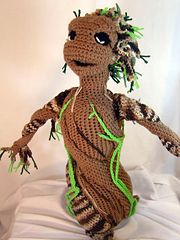 Ravelry: Baby Groot Sapling Plush Amigurumi Stuffed Toy pattern by Vox Mortuum