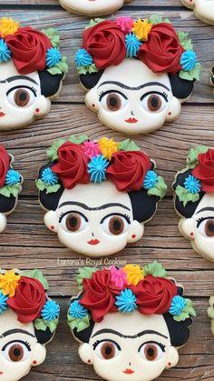 Frida Kahlo Wedding, Frida Kahlo Birthday, Fiesta Cake, Fiesta Party, Mexican Birthday, Mexican Party, 28th Birthday, Birthday Ideas, Frida Kahlo Party Decoration