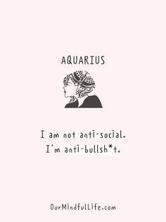 42 Honest and Savage Aquarius Quotes That Aquarians Can Relate Aquarius Love, Aquarius Quotes, Aquarius Woman, Capricorn And Aquarius, Zodiac Signs Aquarius, Aquarius Facts, Aquarius Moon Sign, Zodiac Sign Traits, My Zodiac Sign