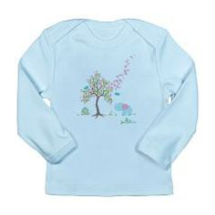 Adorable tree shirts for babies, toddlers, kids, everyone - these shirts help support children's tree projects too.