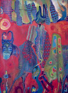 Estela Cuadro, Odisea por Siberia #painting