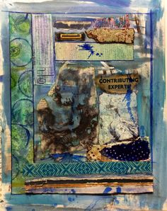 """Contributing Expert"" www.laurierichardsoncreates.wordpress.com www.facebook.com/laurierichardsoncreates Collage Art Mixed Media, Wordpress, Facebook, Painting, Painting Art, Paintings, Painted Canvas, Drawings"