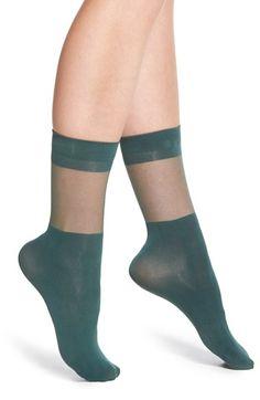 Chelsea28 Sheer Block Trouser Socks available at #Nordstrom