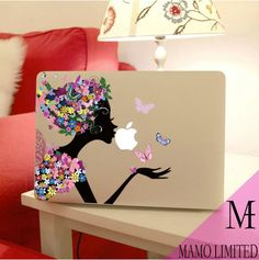 Macbook Decals Macbook Stickers Macbook Skin Mac Cover Vinyl Decal for Apple Laptop Macbook Pro Macbook Air Partial Skin Macbook Case