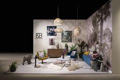 S/ALON Budapest lakástrend kiállítás Tervezte: Kónya Hajnalka Bamboo Light, Suspended Lighting, Lamp Shades, Modern Interior Design, Budapest, Light Fixtures, Gallery Wall, Lights, Home Decor