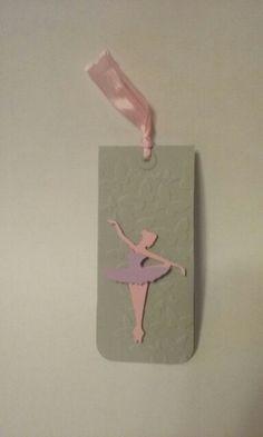 Magnetic bookmark - Ballerina