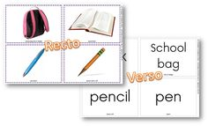 In the classroom Flashcards Spelling, Classroom, Verses, Flashcard, Language, English Language, Words, Projects
