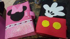 Caderno Mickey e Minnie