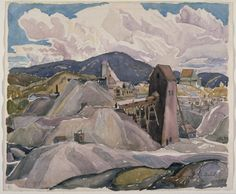 Franklin Carmichael 1932 Cobalt, ON Canadian Painters, Canadian Artists, Group Of Seven Paintings, Franklin Carmichael, Tom Thomson, Emily Carr, Lake Superior, Art Studies, Art School