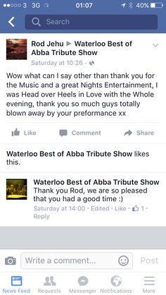 Audience comments
