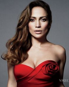 Jennifer Lopez Black Strapless Mini Dress