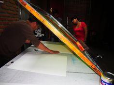 CMYK Lab + Arturo Negrete (75° Color) Póster conmemorativo del primer aniversario de CMYK Lab