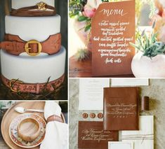 Leather wedding – 26 ideas for decoration and clothing