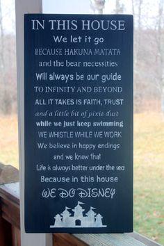 Famille Disney règles signe signe de Disney par PreciousMiracles