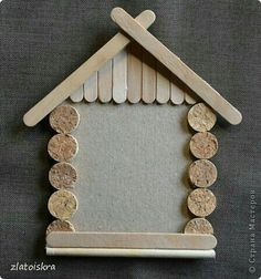 Christmas Crafts For Kids To Make, Holiday Crafts, Christmas Deco, Christmas Projects, Diy Crafts To Sell, Handmade Crafts, Mery Chrismas, Diy Popsicle Stick Crafts, Classroom Crafts
