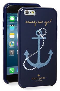 Obsessing over this nautical-themed phone case from Kate Spade. Away we go!