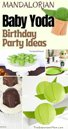 Who can resist the cuteness of Baby Yoda? Kids have been raving about The Mandalorian for some time, it was just right that The Mandalorian Birthday Party theme was made! From DIY Mandalorian decorations, Baby Yoda Food Ideas, to easy tutorials and custom shirts, this compilation is full of The Mandalorian Baby Yoda Birthday Party Ideas you need to for a a great party for kids! Your Baby Yoda and Mando fan kids will surely enjoy them! #mandalorian #babyyoda #birthdaypartyideas… 5th Birthday, Birthday Party Themes, Birthday Ideas, Diy Birthday Decorations, Disney Shows, Disney Outfits, Mandalorian, Custom Shirts, Food Ideas