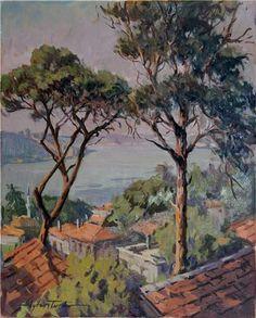 Kandilli by Turkish Painter Ayhan Türker