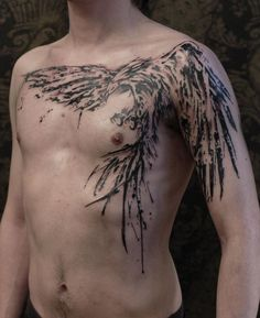 phoenix tattoo chest - Google Search