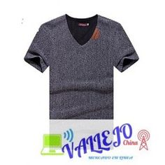 Camiseta De los hombres Casual Un Color-Algodón-Manga Corta Color, Tops, Women, Fashion, Menswear, T Shirts, Men, Moda, Fashion Styles