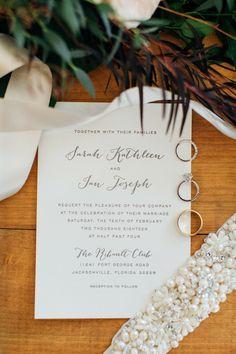 Wedding Stationery, Wedding Invitations, Mini Cheesecake Bites, Rustic Wedding, Our Wedding, Classic Wedding Rings, Mini Apple, Simple Flowers, Wedding Story