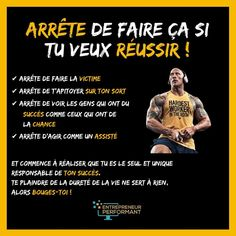 Inspiration Entrepreneur, Self Made Millionaire, French Expressions, Miracle Morning, Training Motivation, Educational Leadership, Affirmations, Challenge Me, Positive Mind