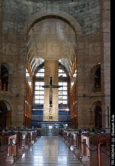 Aparecida Brazil Sao Paulo State Basilica Of The National Shrine Of Our Lady Of Aparecida Interior...