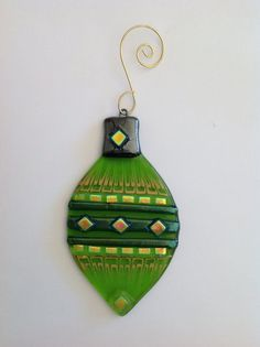 Fused glass Christmas Ornament   Classic, Glasses and Art work