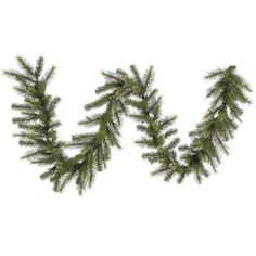 Vickerman Unlit Jack Pine Artificial Christmas Garland 9 x 16 *** Continue to the product at the image link.